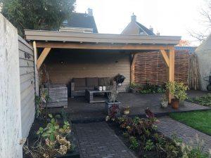 Tuinhuis en overkapping